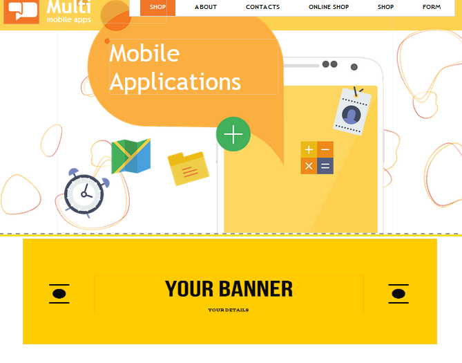 Adding a Banner to your website