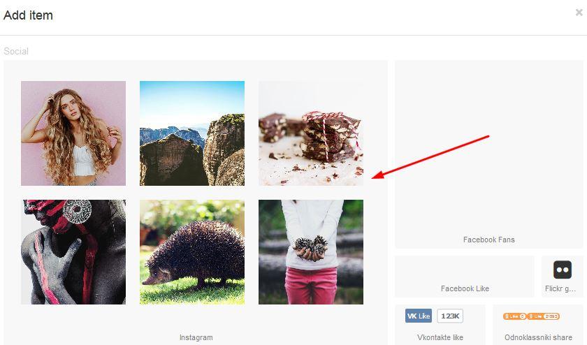 Adding Instagram to your website