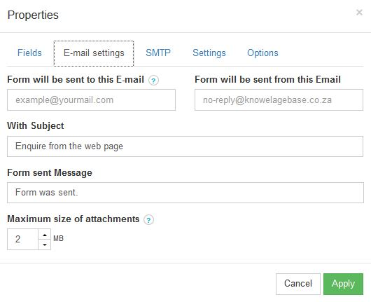 How to add a contact page to your website